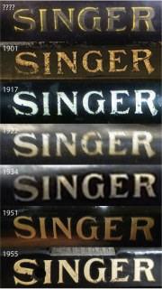 Singer Decal Dating